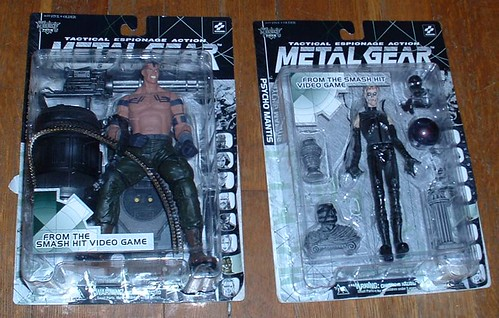 McFarlane's Metal Gear action figures