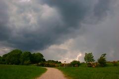 Germany, Eifel, heavy thunderstorm (Eifeelgood) Tags: sky storm clouds way this nationalpark bestof walk magic favorites atmosphere selection best eifel myfavorites walkthisway eifeelgood magiceifel