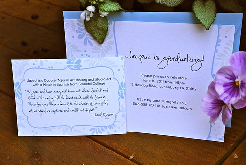 Jacqui's Graduation Celebration