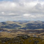 Sgurr an Airgid: looking north from the summit thumbnail