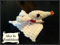 Little Zero amigurumi  🎃🎅🎃🎅🎃🎅 (Alice Zombieland) Tags: crochet amigurumi yarnaddict handcraft ganchillo häkeln haken virka háckování heklati virkkaus hekle hækling horgolás instacrochet handmade crochetaddict nightmarebeforechristmas zero jackskellington