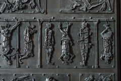Painful Ways to Die (Harry2010) Tags: door art sculpture saintpetersbasilica vaticancity rome italy roma