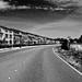 Curved road empty neighborhood infared effect.jpg