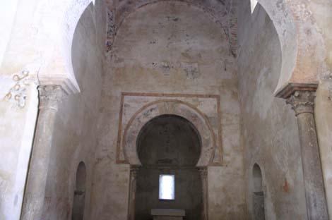 Peñalba de Santiago, León. Interior