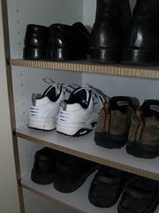 X-Board - hand cut for extra Shoe Shelving