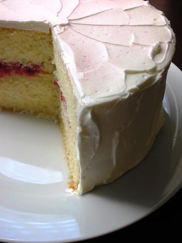 Sky High Vanilla Buttermilk Cake
