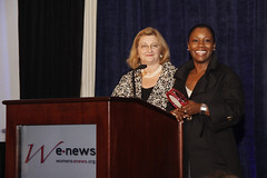 David Temin and  Kimberly Seals Allers at the  Women's eNews celebration of the   21 Leaders for the 21st Century 2009 by webmamma5000