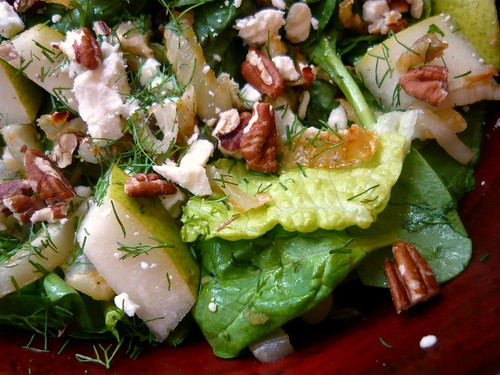 Sugar-Crusted Fennel & Pear Salad