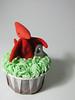 Dinosaur Birthday Cupcakes (abakedcreation) Tags: birthday water grass fossil volcano dinosaur chocolate cupcake vanilla stegosaurus dinosaurs trex tyrannosaurusrex chocolatecupcake brontosaurus fondant triceratop buttercream pterodactyl vanillabuttercream