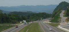 I-75, looking northbound at the KY border (ap0013) Tags: usa mountains america nikon tn tennessee nikond100 tenn interstate smoky d100 75 i75 smokymountains interstate75