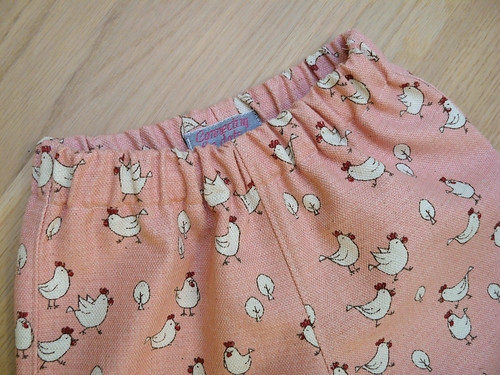 Chicken pants - front