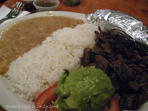 Baja Fish Tacos- Carne Asada Platter