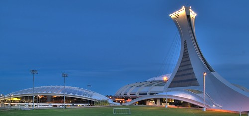 Montreal Olympic Stadium HDR #1