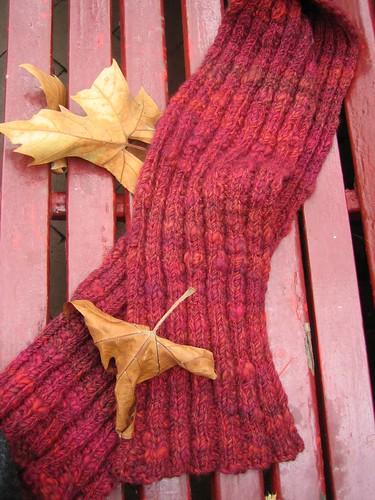 scarf leaf