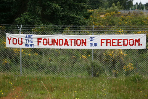 You are the very foundation of our freedom.