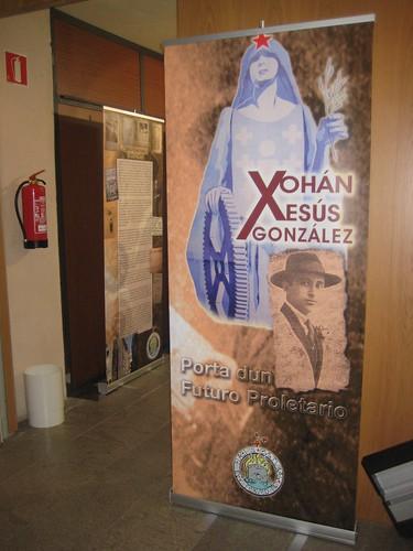 Panel presentación da mostra
