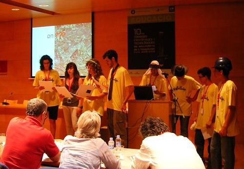 Jornades CientificoTecnològiques de L'H. Presentació del treball