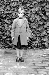 Fine Grain Test (theirhistory) Tags: boy test plant film ivy subject