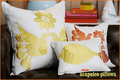 jonathan adler: acapulco pillows