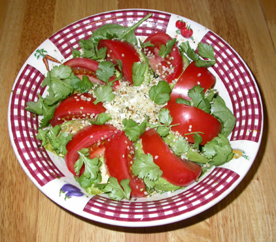 Hemp Nut Salad
