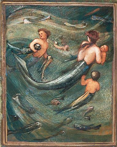 mermaids in the deep...