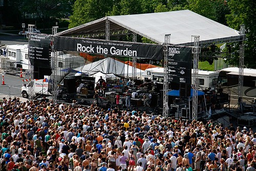 Rock The Garden 2009 by The Current Online.