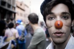 Facce da Par Tot 09 (...utopiacere... - [Michele Lapini]) Tags: street portrait people italy freedom nikon arte arts parade workshop bologna tot par lapo parata partot utopiacere