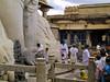BrunoRaymond_20001001_IMG_0456 (Wild Pixels) Tags: india statue worship ceremony priest karnataka shravanabelagola sravanabelgola