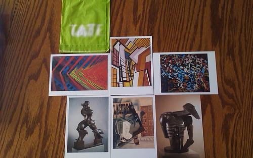 Futurism postcards - Tate Modern