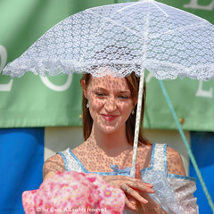 Brolly good (Sir Cam) Tags: cambridge portrait umbrella star town claire university shadows gown sircam 800thanniversary eightpointed externalaffairscommunications thecambridge800towngowncountryshow