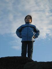 Striking a pose (jenburn) Tags: dante blowhole kiama