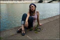 Charlotte-65 (damienlyon) Tags: 3 france de soleil photo lyon charlotte marin bonnet juillet quai 2009 sane sane saone 2009shoot damienlausseur shootcharlottequaidesashoot dlphoto