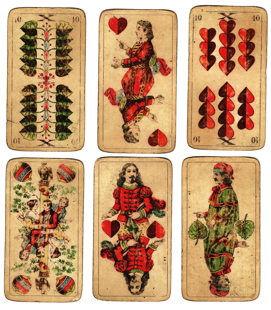 Free to use: Vintage German Playing Cards
