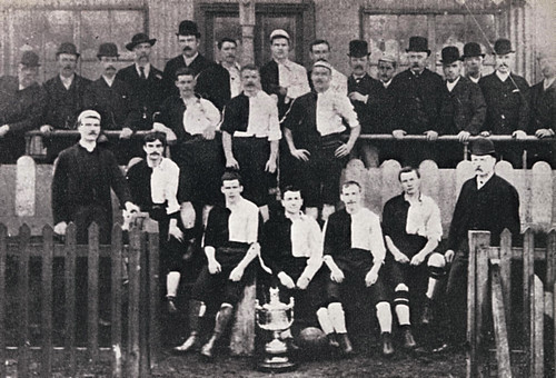 Newton Heath 1890-91 team photograph