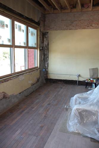 Installing oak floor