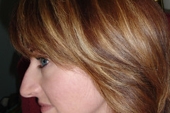 my new color job. (and cut, but whatever LOOK AT THE COLOR!)