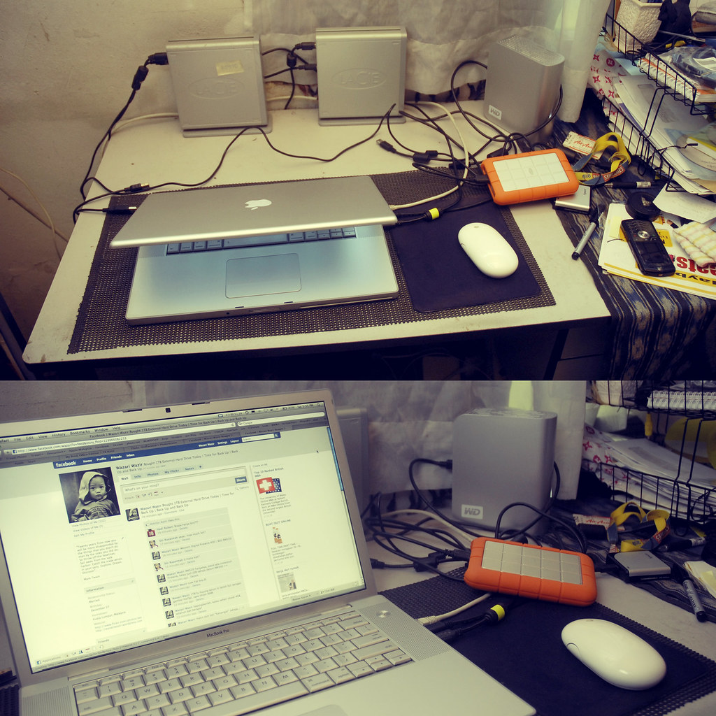 My WorkSpace | Messy | Cluttered | Apple