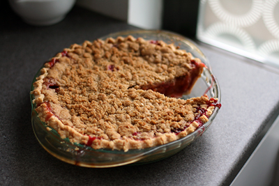 Peach Cherry Pie