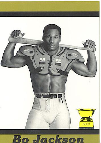 Baseball Card Bust Bo Jackson 1989 Bo Knows Bo Week No 1