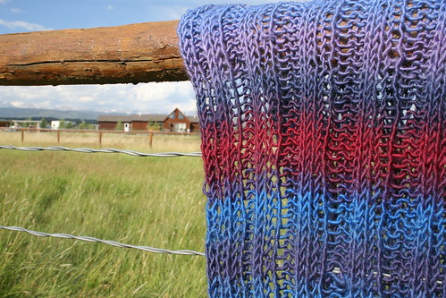 Trinity Stitch Prayer Shawl