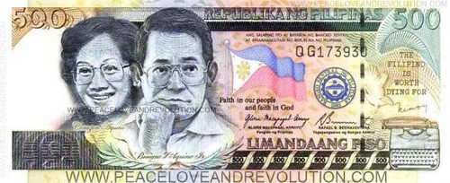 Proposed P500 Bill, from www.peaceloveandrevolution.com