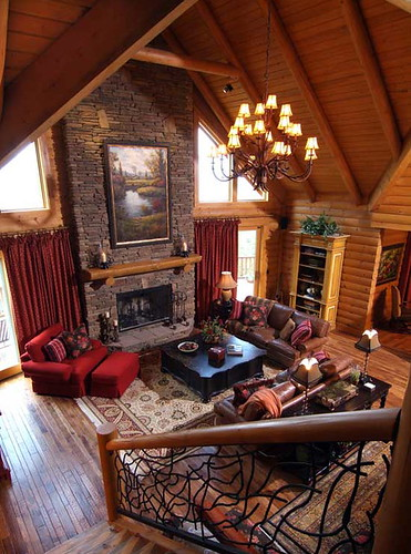 log cabin interior decorating log cabin airplane decor
