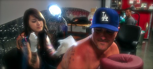 Tattoo panoramic mia and Brian