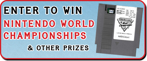 Win Nintendo World Championships & More Prizes