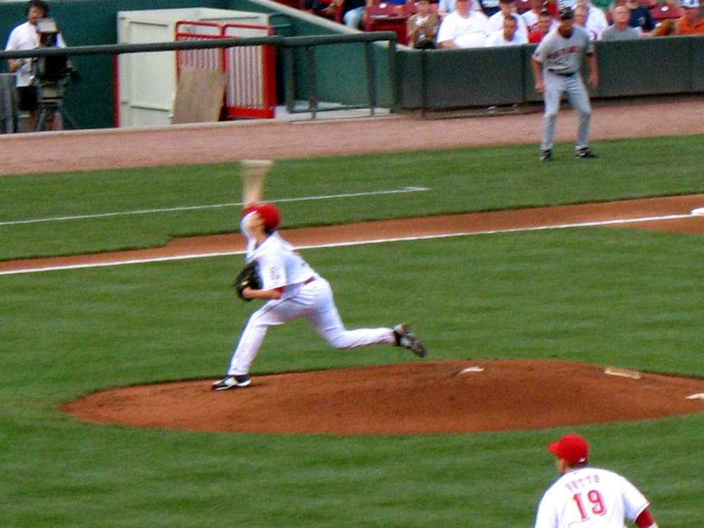 Reds vs Giants Aug 18 2009