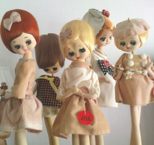 dolls, bradley dolls, herman pecker, vintage dolls by LadyLapin