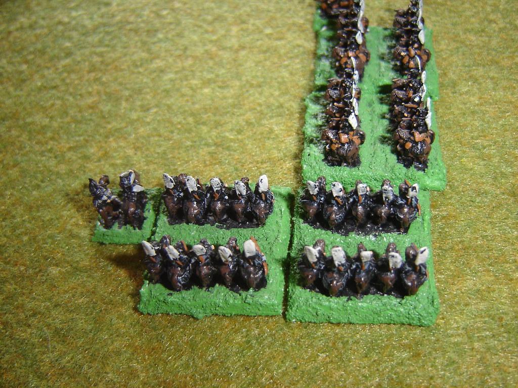 Naitoh cavalry engage Tokugawa cavalry
