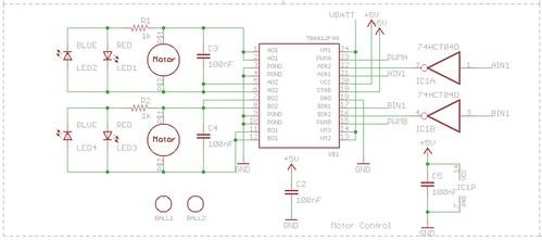 Motor Board - Motors