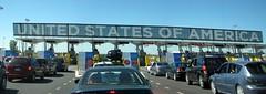 USA Border 3 (MPD01605) Tags: new york canada unitedstates border panoramic qubec 2009 bordercrossing grenzbergang tatsunis frontire interstate87 autoroute15