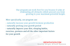Growth Flexv System, Grow taller system